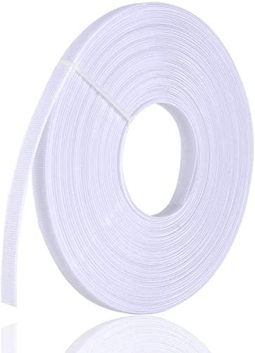 바느질용 티미코 폴리에스터 보닝 - 코르셋용 저밀도 맥스프로 보닝 간호캡 신부 가운(화이트 6MM)
