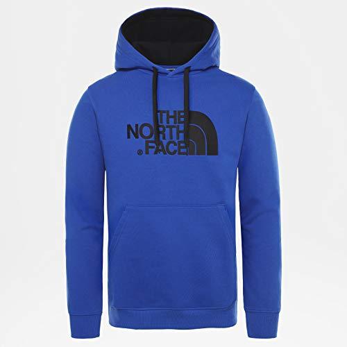 The North Face M Drew Peak Plv HD, Felpa con Cappuccio Uomo, Blu (TNF Blue), S