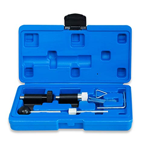 LARS360 6 TLG Zahnriemen Wechsel Werkzeug Set Nockenwellen Arretierwerkzeug Kurbelwelle für TDI Pumpe-Düse Motoren 1.2 1.4 1.9 2.0 L TDI Diesel Common Rail