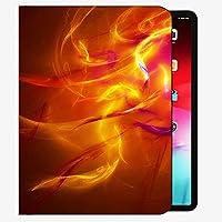 """iPadの空気(第3世代)10.5"""" 2019 / iPadのプロ10.5"""" 2017ケースカバー、火炎の爆発ラインシャドウケーススリムシェルカバーにiPadのプロ10.5インチ用"""