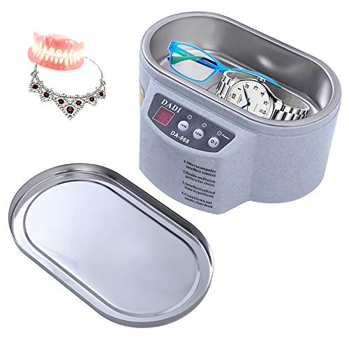 YChoice365 Mini Ultrasonic Cleaner Jewelry Leaning Machine Intelligent...