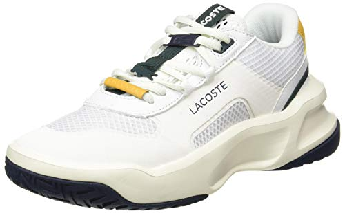 Lacoste Sport Ace Lift Fly 0721 1 SFA, Zapatillas Mujer, Off Wht/Nvy, 37.5 EU