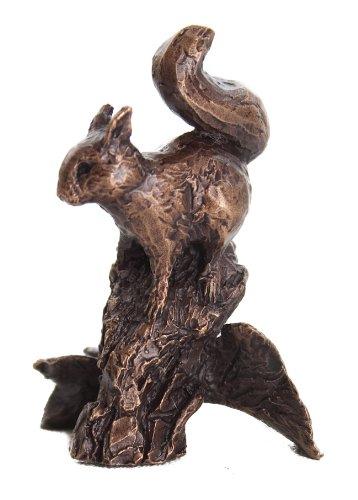 Butler et pêche – Bronze Massif Miniature écureuil Roux