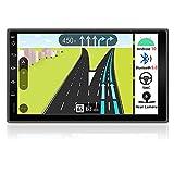 BXLIYER Autoradio Double din Android 9.0 de Navigation de Voiture stéréo avec / 7 Pouce Quad Core Radio multimédia de Voiture/ Soutien 256G SD USB Volant WiFi BT OBD WLAN / Caméra arrière GRATUITES