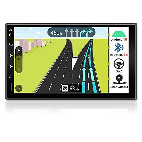 JOYX Autoradio Android 10.0 Doppia Din Car Stereo Radio Universal GPS Navigation | Gratuita Camera | 2G+32G | Supporto Mirror Link 4G WiFi DAB Bluetooth volante Google USB SD FM/AM Carplay |7 pollici