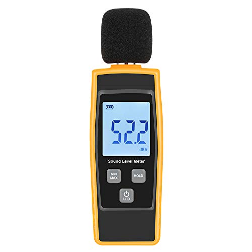Hand-Held Sound Level Meter,V·RESOURCING 30~130 dB Decibel Noise...
