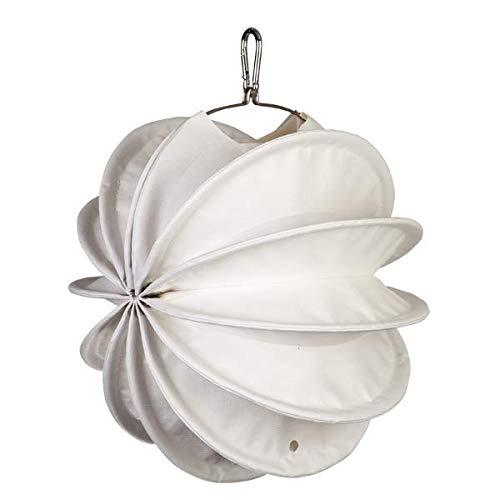 Lampion Barlooon I Wetterfester Lampion mit Beleuchtungs- und Montageset I Grösse S (Ø 30 cm) I Farbe weiss I Beleuchtung I Garten und Terrasse Outdoor Aussen I Handarbeit aus Deutschland