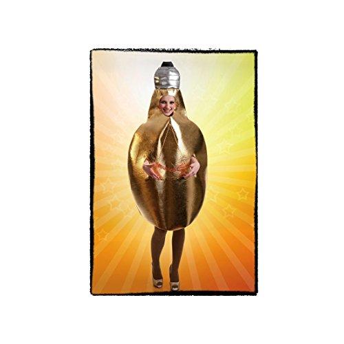 Disfraz de Bombilla Amarilla de luz para adultos