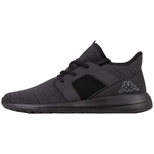Kappa Unisex-Erwachsene Amun II Sneaker, Schwarz (Black 1111), 39 EU