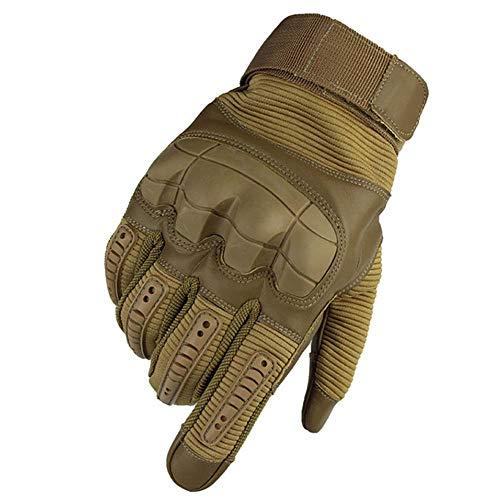 SJF Kletterhandschuhe Seil Handschuhe, Touchscreen Gummi knöchel, geeignet zum Klettern felsen/bäume/wände/Klettern, weich, komfortabel, flexibel, langlebig,S