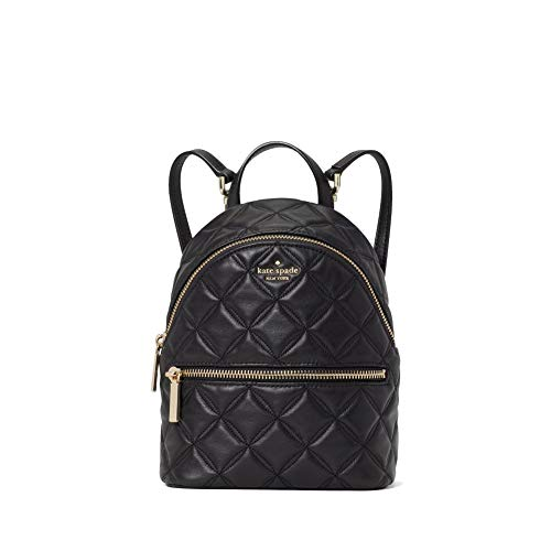 kate spade backpack for women Natalia convertible backpack handbag size mini (Black)