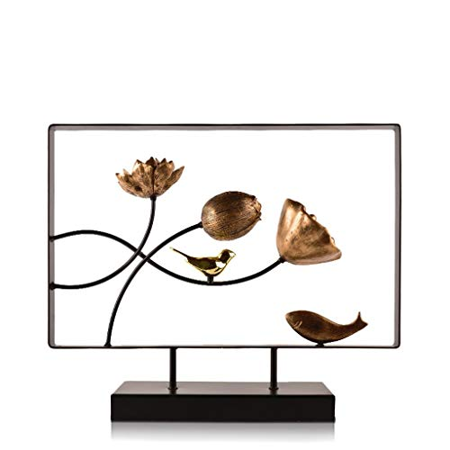 Desktop-Skulptur Moderne Skulptur Dekoration Hauseingang Ausverkauf TV Schrank Display Kreative Modell Dekorative Handwerk Ornamente (Color : A)