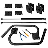 Sidasu Murphy Bed Kit Heavy Duty Bed Support Hardware DIY Kit for Vertical&Horizontal Twin Bed