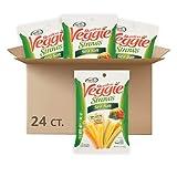 Sensible Portions Garden Veggie Straws, Sea Salt, Snack Size, 1 Oz (Pack of 24)