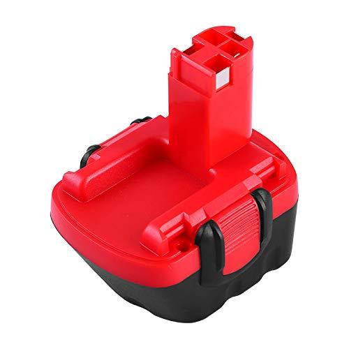 FUNMALL Ni-MH 12V 3600mAh Batería de Taladro para Bosch BAT043 BAT045 BAT120 BAT139 2607335542 2607335526 2607335274 2607335709 GSR 12-2 12VE-2 PSR 12 GSB 12VE-2 22612 23612 32612