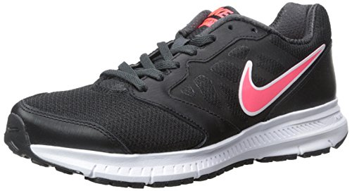 Nike Downshifter 6 Msl - Zapatillas para mujer, Negro (Black / Hyper Punch Anthracite), 35.5 EU