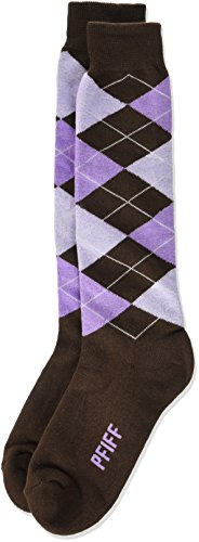PFIFF 100322 Socke, Medium Brown/lilac, 40-42