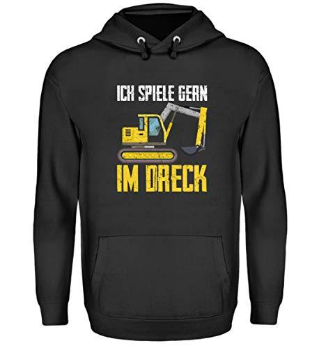 Chorchester graafmachine spelen graag in het vuil - Unisex capuchontrui hoodie