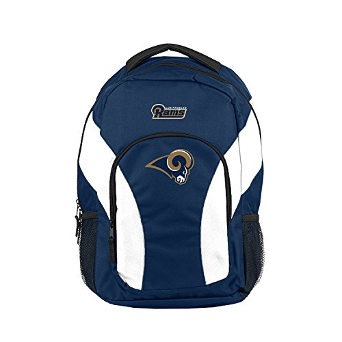 "The North West Company NFL Los Angeles Rams Draftday Rucksack, Unisex, NFL Los Angeles Rams Draftday Rucksack, C11NFL0C3810005RTL, blau, 18""x 5""x12"""