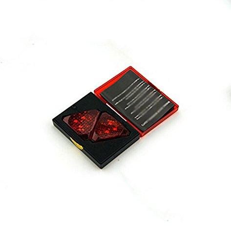 RUIX Deur LED Projectie Lamp Inductie Waarschuwing Veiligheid Botsingen Preventie Achterste Impact Deur Welkom Licht Knipperende Licht, C