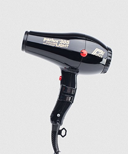 Parlux Secador de pelo 385 Powerlight Zwart