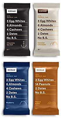 RXBAR, Protein Bar, Variety Pack, Gluten Free, Breakfast Bar, 12-Pack from RxBar
