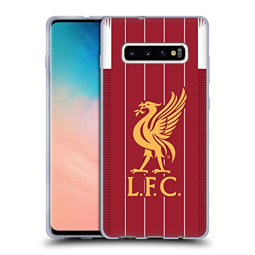 Head Case Designs Officially Licensed Liverpool Football Club Home 2019/20 Kit Soft Gel Case Compatible with Samsung Galaxy S10+ / S10 Plus