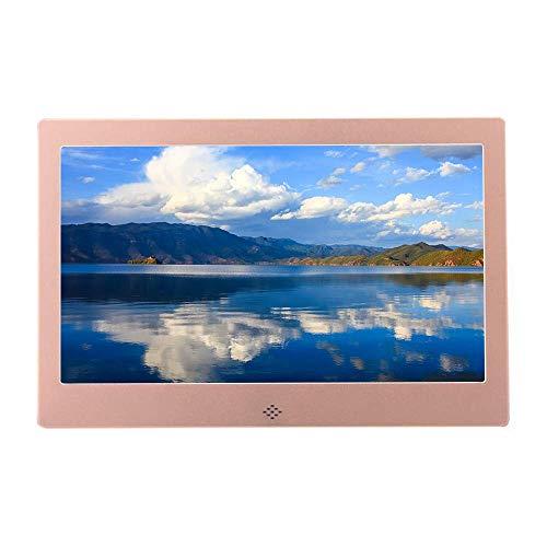 Marco de Fotos Digital de 10 Pulgadas máquina de Publicidad en Video HD multifunción álbum de Fotos electrónico Compatible con Pantalla HDMI Pantalla LED