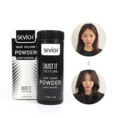 Polvo esponjoso para el cabello,Bloomma styling SEVICH Voluminizador para el cabello en polvo - Fluffy Mattifying Matte Texturizing Hair Styling Powder, 50ml