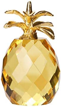 OutTop TM Crystal Glass Pineapple Decoration Collection Figure Paperweight Ornament Feng Shui product image