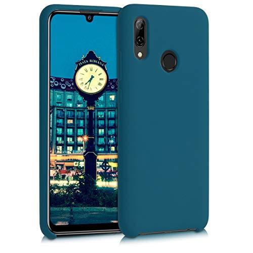 kwmobile Coque Compatible avec Huawei P Smart (2019) - Coque - Housse de téléphone pétrole Mat