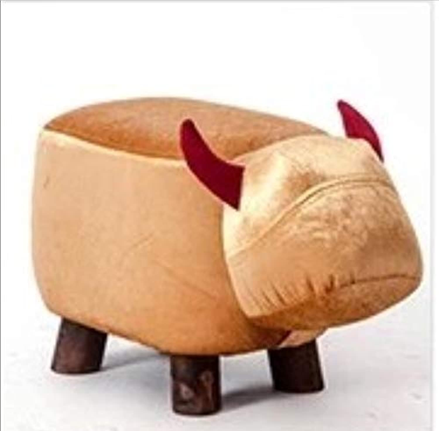 Leather Sofa shoes Stool Pouf Chair Bean Bag Kid Toys Storage Footstool Solid Wood Nordic Home Deco Furniture,B
