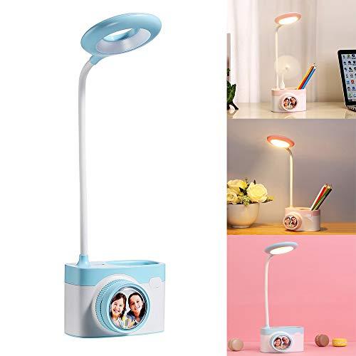FGAITH tafellamp inklapbaar voor Creative C8 camera USB opladen multifunctioneel met houder voor stiften leeslamp tafellamp klein