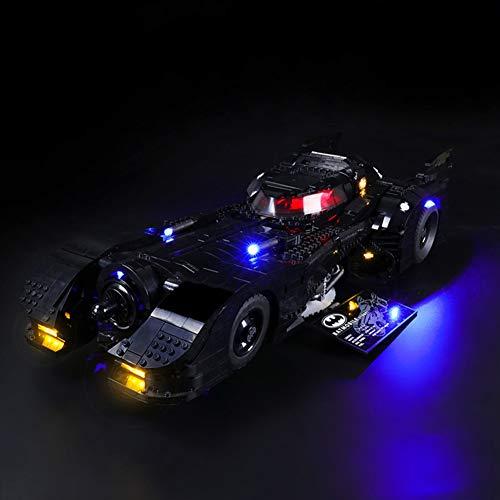 Nlne Kit De Iluminación Led para Lego Batmobile,Compatible con Ladrillos De Construcción Lego Modelo 76139, (NO Incluido En El Modelo)
