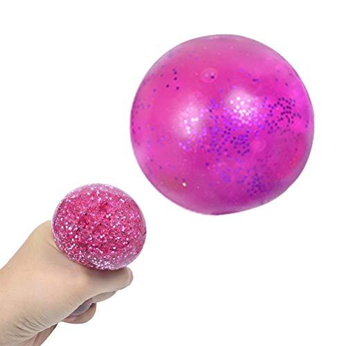 TangYang Juguetes de Bolas antiestrés, Juguete sensorial Divertido, Bolas para apretar, Bola Blanda antiansiedad, Juguete de Bola de presión Suave para niños Adultos