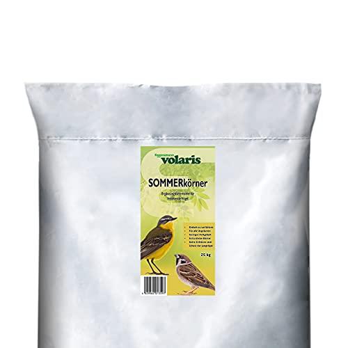 Eggersmann Volaris SOMMERkörner 25 kg - Wildvogel - Futter, Streufutter, optimal für Jungvögel