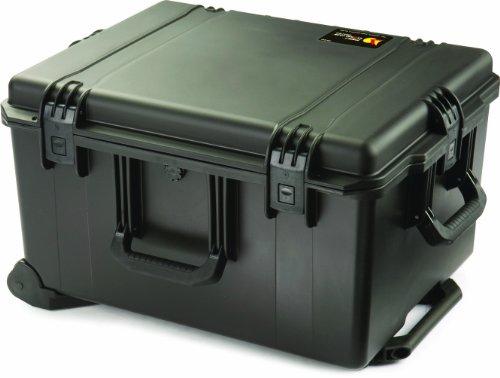 PELI Storm IM2750 valise de voyage robuste pour photo et drone, étanche à l'eau et à la poussière, capacité de 78L, fabriquée aux États-Unis, avec insert en mousse personnalisable, noire
