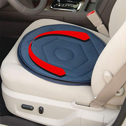 Fifth Gear 360° Rotating Swivel Car Chair Seat Cushion Easy Access Mobility Aid Home Office