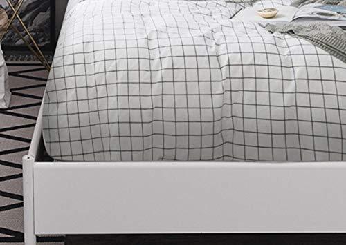 Y-F Sábanas Ajustables con Banda elástica 160x200 Funda de colchón para Cama Sábana Ropa de Cama Ropa de Cama Individual 150180200135 90