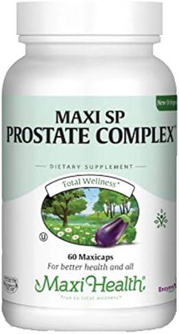 Max 66% OFF Maxi Health SP Prostate 60 - In stock Complex Maxicaps