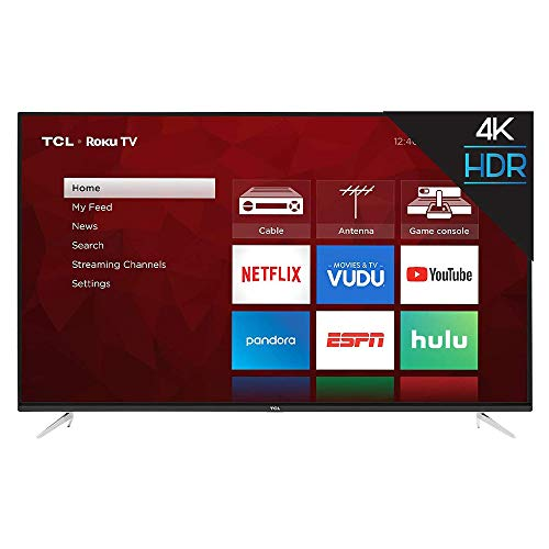 TCL 55S423 55 pulgadas 4K UHD HDR Roku Smart TV (Renewed)