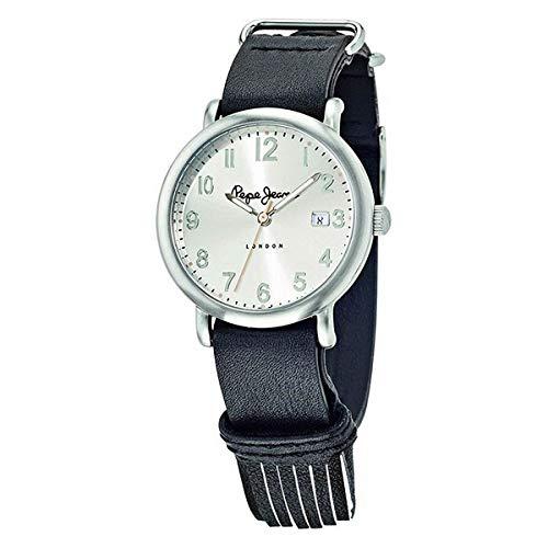 Pepe Jeans Reloj Analog-Digital para Womens de Automatic con Correa en Cloth S0330168