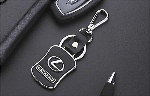 Lexus Diseñador Cuero / metal llavero del coche con la caja de regalo