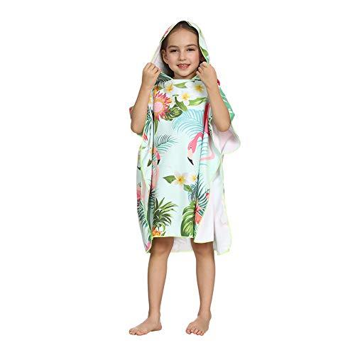 ED-Lumos Toalla con Capucha para baño para bebé niño niña Poncho Suave para Playa Microfibra...