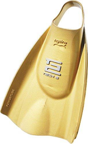 Soltec-swim(ソルテックスイム) ハイドロ・テック2フィン スイム ハードタイプ ゴールド Mサイズ 201179