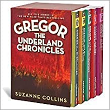 The Underland Chronicles Complete Boxed Set, Books 1-5: Gregor the Overlander, Gregor and the Prophecy of Bane, Gregor and...