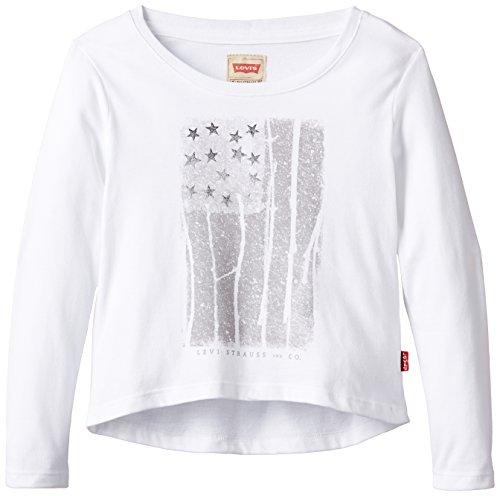 Levi's Kids Meisjes shirt met lange mouwen Levi's Tee - Shirt