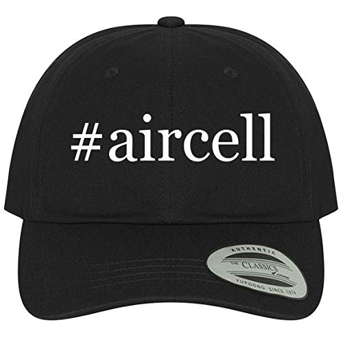 The Town Butler #aircell - A Comfortable Adjustable Dad Baseball Hat, Black, One Size