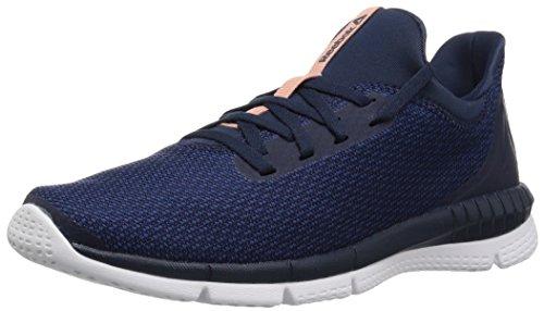 Reebok Damen Print Her 2.0 Thrd Sneaker, Blau (Thrd - Coll. Marineblau/Washed Blue/White), 36.5 EU