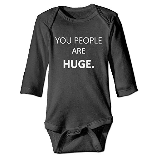 MUAIKEJI People are Huge Newborn Cotton Jumpsuit Romper Bodysuit Onesies